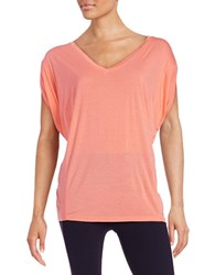 Bench V Neck Tee Pink