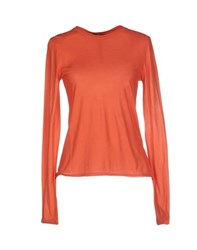 Allegri Topwear T Shirts Women Orange