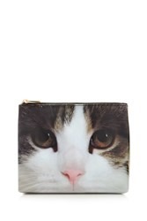 Forever 21 Cat Graphic Makeup Bag