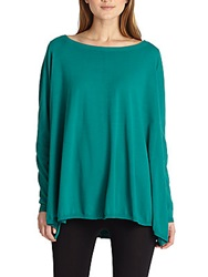Lafayette 148 New York A Line Tunic Ultra Teal