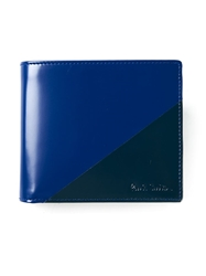 Paul Smith Contrasting Panel Foldover Wallet