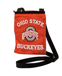 Little Earth Ohio State Buckeyes Gameday Crossbody Bag Team Color