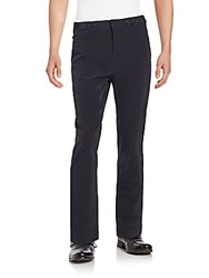 Helmut Lang Button Tab Pants Black