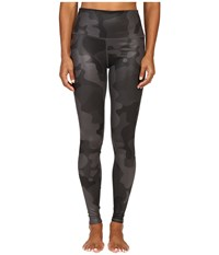 Alo Yoga High Waisted Airbrush Leggings Black Camo Women's Casual Pants