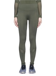 Alala Seamless Full Length Sports Tights Green