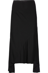 Rick Owens Stretch Cady Fishtail Skirt