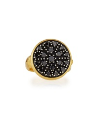 Gurhan 24K Black Diamond Pave Moonstruck Ring Size 7
