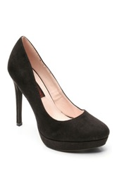 Two Lips Too Lucilla Platform Pump Black