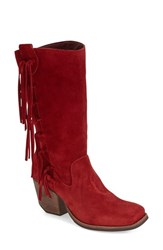 Women's Matisse 'El Paso' Fringe Boot Red