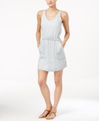 Calvin Klein Jeans Sleeveless Denim Dress Light Blue