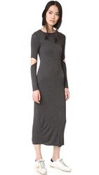 Clayton Sam Dress Charcoal