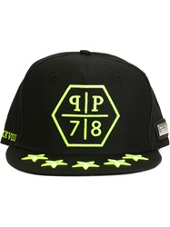 Philipp Plein 'Cross' Cap Black