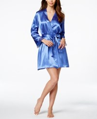 Morgan Taylor Satin Wrap Robe Only At Macy's