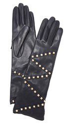 Agnelle Delphine Gloves Black