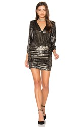 Baandsh Galaxie Dress Metallic Gold