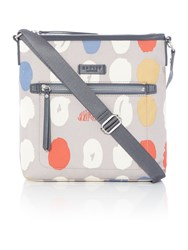 Radley Dna Grey Medium Cross Body Bag Grey