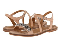 Enzo Angiolini Jewelana Light Natural Light Natural Synthetic Women's Dress Sandals Gold