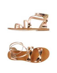 Space Style Concept Sandals Copper