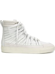 Silent Damir Doma High Top Sneakers White