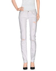 Tommy Hilfiger Denim Trousers Casual Trousers Women White