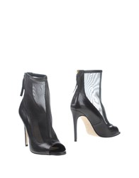 Space Style Concept Footwear Ankle Boots Women Black