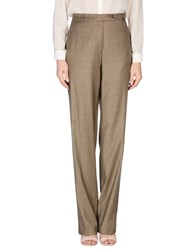 Gai Mattiolo Trousers Casual Trousers Women Khaki