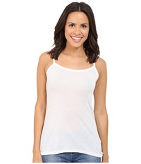 Michael Stars Supima Modal Cami White Women's Sleeveless