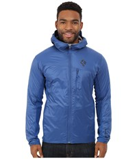 Black Diamond Access Lt Hybrid Hoodie Denim Men's Sweatshirt Blue