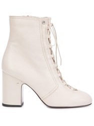 Laurence Dacade 'Milly' Ankle Boots White