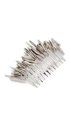 Pluie Shattered Hair Comb Silver