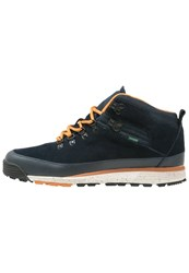 Element Donnelly Laceup Boots Navy Dark Blue