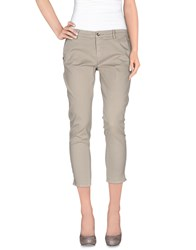40Weft Trousers 3 4 Length Trousers Women Grey