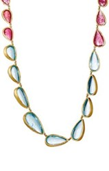Judy Geib Women's Teardrop Link Necklace Gold