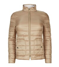 Basler Reversible Quilted Jacket Female Brown