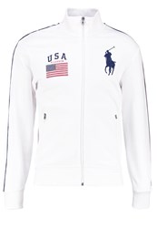 Polo Ralph Lauren Tracksuit Top White