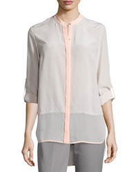 Elie Tahari Vivian Long Sleeve Blouse