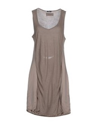 Blauer Short Dresses Dove Grey