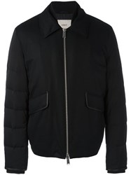 Cerruti 1881 Padded Sleeve Zip Up Jacket Black