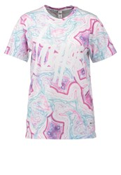 Hype Lilac Blush Print Tshirt Multi Multicoloured