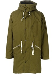 Paul Smith Jeans Waistband Parka Green