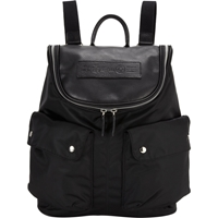 Felisi Top Zip Backpack Black