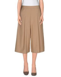 Kai Aakmann Kai Aakmann Trousers 3 4 Length Trousers Women Camel