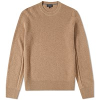 Rag And Bone Kaden Cashmere Crew Knit Brown