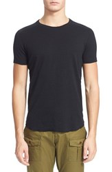 Men's Wings Horns Ribbed Slub Cotton T Shirt