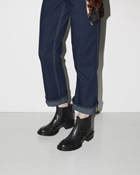 Eckhaus Latta Rubber Chelsea Boot Black