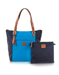 Bric's X Bag Large Foldable Tote Sky Blue