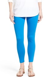 Women's Hue 'Super Smooth' Skimmer Denim Leggings Electric Blue