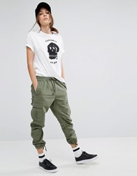 Carhartt Wip Boyfriend Camper Military Bottoms Green