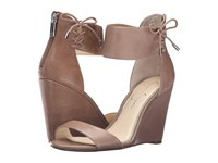 Jessica Simpson Breeley Totally Taupe Ruby Tumbled Women's Wedge Shoes Beige