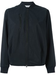 Adidas By Stella Mccartney Zipped Bomber Jacket Black
